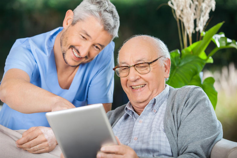 Improving relationships with long term care residents